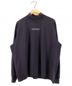 stein(シュタイン)の古着「Oversized High Neck LS 20SS」|ネイビー