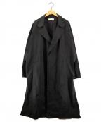 rin(リン)の古着「オーバーコート ttaggg取扱ブランド」|ブラック