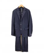 EPOCA UOMO(エポカウォモ)の古着「ナイロンセットアップジャケット」|ネイビー