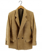 PERVERZE(パーバーズ)の古着「ダブルテーラードジャケット」|ベージュ