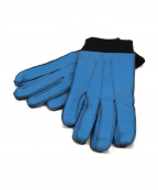 NEIGHBORHOOD(ネイバーフッド)の古着「レザーグローブ type urban garment」|ブラック×ブルー