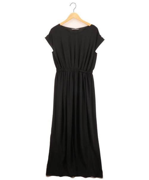 B ability(ビーアビリティ)B ability (ビーアビリティ) スリットマキシワンピース ブラック サイズ:38の古着・服飾アイテム
