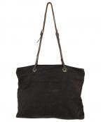 FENDI(フェンディ)の古着「ヴィンテージズッカ柄ナイロンバッグ」|ブラック