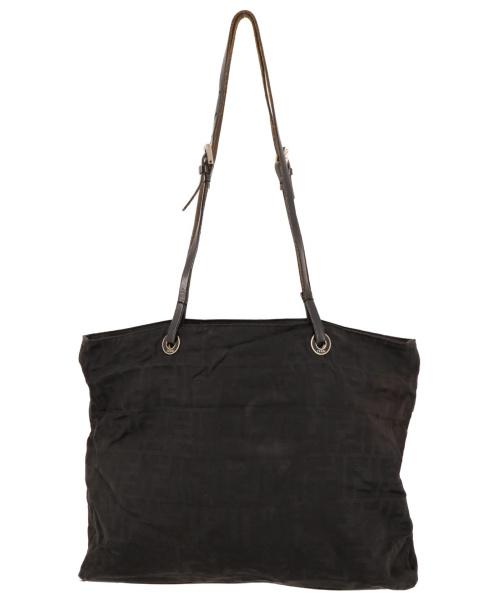 FENDI(フェンディ)FENDI (フェンディ) ヴィンテージズッカ柄ナイロンバッグ ブラック サイズ:-の古着・服飾アイテム