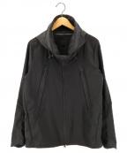 DESCENTE ALLTERRAIN()の古着「Schematech Air hooded jacket」 ブラック