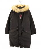 BEAMS HEART(ビームスハート)の古着「リバーシブルダウンコート」|ブラック