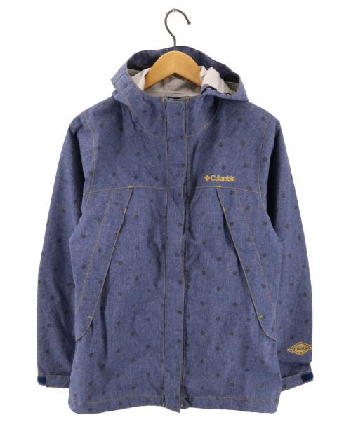 Columbia(コロンビア)Columbia (コロンビア) マウンテンパーカー ブルー サイズ:Mの古着・服飾アイテム