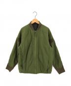 BURLAP OUTFITTER(バーラップアウトフィッター)の古着「プリマロフトジャケット」|グリーン