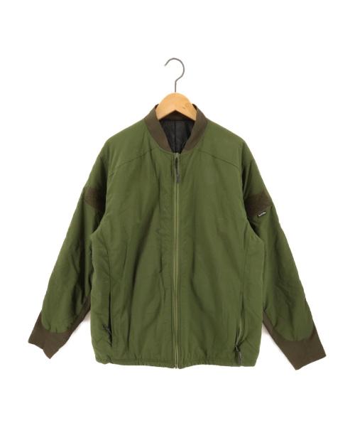 BURLAP OUTFITTER(バーラップアウトフィッター)burlap outfitter (バーラップアウトフィッター) プリマロフトジャケット グリーン サイズ:SMALLの古着・服飾アイテム