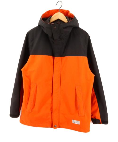 WACKO MARIA(ワコマリア)WACKO MARIA (ワコマリア) MOUNTAIN PARKA ブラック×オレンジ サイズ:Sの古着・服飾アイテム