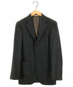 DEPETRILLO(デペトリロ)の古着「ウール3Bジャケット」|モスグリーン