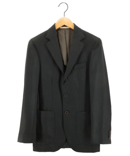 DEPETRILLO(デペトリロ)DEPETRILLO (デペトリロ) ウール3Bジャケット モスグリーン サイズ:42の古着・服飾アイテム
