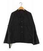 ()の古着「リバーシブルCPOジャケット」|ブラック
