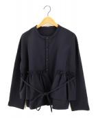 Y/M(イム)の古着「クロス ウエストフリルシャツ」|ネイビー