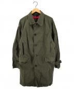 sage de cret(サージュデクレ)の古着「ミリタリーコート ステンカラー」|グリーン