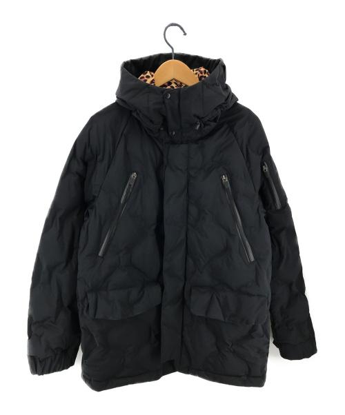 Denham×ナカメマン(デンハム×ナカメマン)Denham×ナカメマン (デンハム×ナカメマン) N3Bフーデッドコート ダウンジャケット ダウンコート ブラック サイズ:Sの古着・服飾アイテム