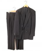 GIANNI VERSACE(ジャンニヴェルサーチ)の古着「ヴィンテージダブルジャケットスーツ」|ブラック