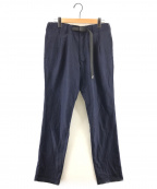 GRAMICCI(グラミチ)の古着「ポリウールクライミングパンツ」|ネイビー