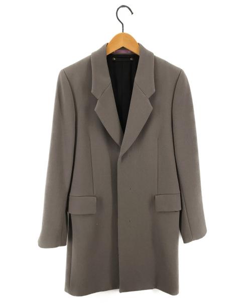 PAUL SMITH(ポールスミス)PAUL SMITH (ポールスミス) メルトンチェスターコート グレー サイズ:Sの古着・服飾アイテム