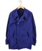 BLUE WORK(ブルーワーク)の古着「ポリエステルナイロンブルゾン」 ネイビー