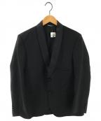 Fraizzoli(フライツォーリ)の古着「2Bジャケット タキシードジャケット」|ブラック