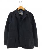 Fraizzoli(フライツォーリ)の古着「ナイロンワークジャケット 3Bジャケット」|ネイビー