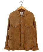 THE CRIMIE(ザ クライミー)の古着「SUEDE LEATHER JACKET レザージャケット」|ベージュ