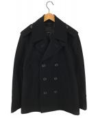 COACH(コーチ)の古着「ウールPコート」|ブラック