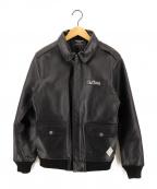 THE CRIMIE(ザ クライミー)の古着「ホースハイドA-2ジャケット」|ブラック