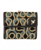 Vivienne Westwood()の古着「がま口財布」 ブラック×ブルー