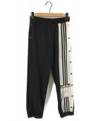 adidas(アディダス)の古着「アディブレイクパンツ スウェットパンツ」|ホワイト×ブラック