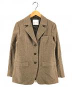 bractment(ブラクトメント)の古着「テーラードジャケット」|オリーブ