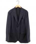 TAKEO KIKUCHI(タケオキクチ)の古着「4WAYテックストレッチジャケット」 ネイビー