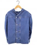 ISABEL MARANT(イザベルマラン)の古着「コットンデニムシャツジャケット」|インディゴ