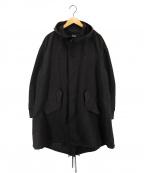THE RERACS(ザ リラクス)の古着「20SS LONG MODS COAT ロングモッズコート」|ブラック