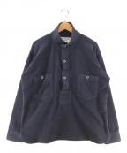 MOUNTAIN RESEARCH(マウンテンリサーチ)の古着「フリースLogger Shirt フリースシャツ」|ネイビー