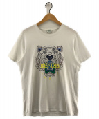KENZO(ケンゾー)の古着「Tiger T-shirt タイガープリントTシャツ」|ホワイト