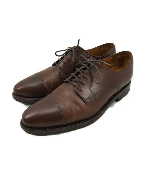Jalan Sriwijaya(ジャランスリウァヤ)Jalan Sriwijaya (ジャランスリウァヤ) ストレートチップシューズ ブラウン サイズ:6 1/2 98782 DAINITE SOLEの古着・服飾アイテム
