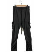 ()の古着「Softly Track Pants トラックパンツ」|ブラック