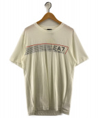 EA7(イーエーセブン)の古着「プリントTシャツ」|アイボリー