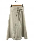 FILL THE BILL × Dickies × Spick & Span()の古着「マキシラップスカート」|ホワイト