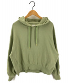 Spick and Span(スピックアンドスパン)の古着「21SS 裏毛THE HOODIE パーカー」|グリーン