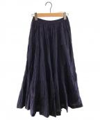 MARIHA()の古着「草原の虹のスカート」|ネイビー