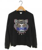 KENZO()の古着「タイガースウェット」|ブラック