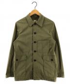 F.O.B FACTORY(エフオービー ファクトリー)の古着「レイルロードジャケット」|カーキ