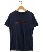 ()の古着「プリントTシャツ」|ネイビー