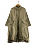 KAPTAIN SUNSHINE(キャプテンサンシャイン)の古着「M-65 RAINFIELD PARKA  コート」|ベージュ