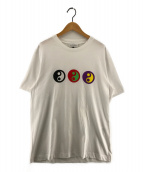 Gosha Rubchinskiy(ゴーシャ ラブチンスキー)の古着「Yin Yang Tee プリントTシャツ」 ホワイト