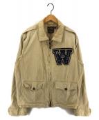 ()の古着「M-421Aサマーフライングジャケット」 ベージュ