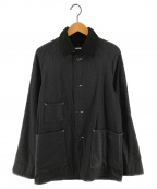 POST OALLS(ポストオーバーオールズ)の古着「カバーオール ジャケット」|グレー